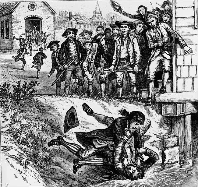 Shays' Rebellion In 1786